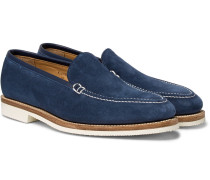 Riviera Suede Loafers