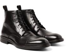 Jarman Cap-toe Leather Boots