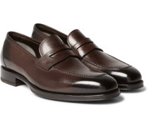 Wessex Leather Penny Loafers