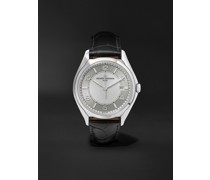 Fiftysix Automatic 40mm Stainless Steel and Alligator Watch, Ref. No. 4600E/000A-B442