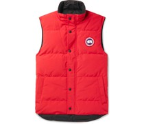 Garson Slim-Fit Quilted Shell Down Gilet