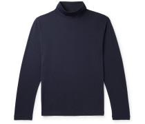 Pima Cotton-Jersey Rollneck T-Shirt