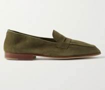 Padstow Suede Loafers