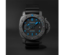 Submersible Automatic 42mm Carbotech and Rubber Watch, Ref. No. PAM00960
