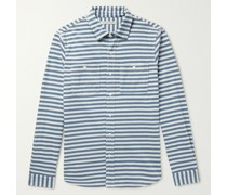 Striped Recycled Cotton-Blend Shirt