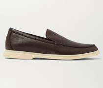 Summer Walk Full-Grain Leather Loafers