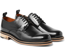 Patent-leather Derby Shoes