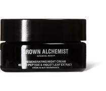 Regenerating Night Cream - Neuro-Peptide & Violet Leaf Extract, 40ml