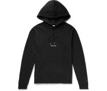 Logo-Print Loopback Cotton-Jersey Hoodie