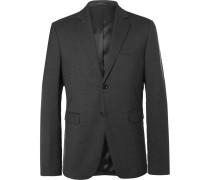 Grey Brobyn J Slim-fit Wool Suit Jacket