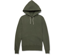 Wallace & Barnes Loopback Cotton-jersey Hoodie