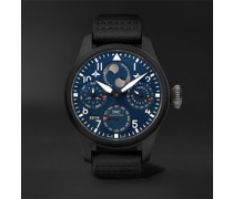 Big Pilot's Perpetual Calendar Rodeo Drive Automatic Chronograph 46.5mm Ceramic and Leather Watch