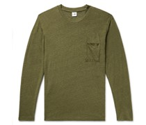 Dylan Mélange Slub Linen T-Shirt