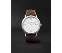 My Classima 40mm Stainless Steel and Leather Watch, Ref. No. 10389