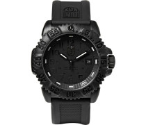 Colourmark 3051 Carbon-reinforced Stainless Steel And Rubber Watch