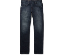 Matchbox Slim-fit Washed-denim Jeans