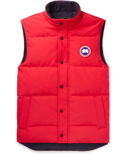 Garson Quilted Shell Down Gilet