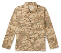 Harrison Camouflage-Print Cotton-Ripstop Jacket