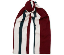 Ninos Striped Wool Scarf