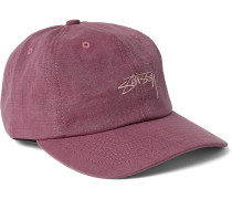 Embroidered Cotton-ripstop Baseball Cap