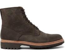 Joseph Cap-Toe Suede Boots