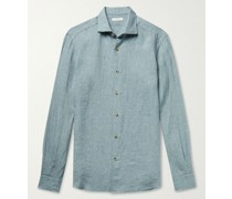 Slub Linen-Chambray Shirt