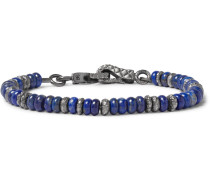 Sterling Silver Lapis Bracelet