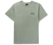 Warrior Printed Cotton-jersey T-shirt