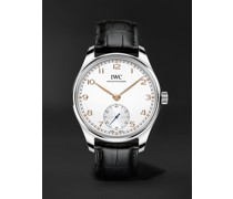 Portugieser Automatic 40.4mm Stainless Steel and Alligator Watch, Ref. No. IW358303