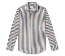Errico Striped Cotton-Blend Shirt