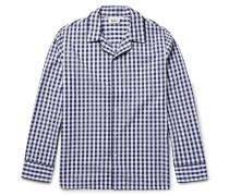 Henry Gingham Cotton Pyjama Shirt