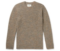 Ripple Mélange Wool-Blend Sweater