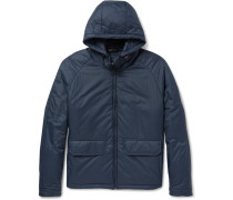 Slim-fit Padded Shell Hooded Jacket
