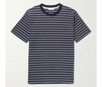 Johannes Striped Organic Cotton-Jersey T-Shirt