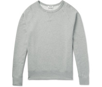 College Loopback Cotton-jersey Sweatshirt