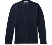 Donegal Merino Wool and Linen-Blend Cardigan