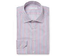Mercurino Slim-fit Striped Cotton Shirt