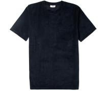 Bren Cotton-blend Velvet T-shirt