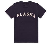 Alaska Appliquéd Cotton-blend Jersey T-shirt