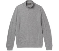 Ski Cashmere Half-zip Sweater