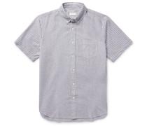 Button-down Collar Cotton-seersucker Shirt