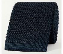 7cm Knitted Silk Tie