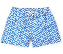 Ipanema Slim-fit Short-length Printed Swim Shorts