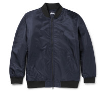 Satin-shell Bomber Jacket