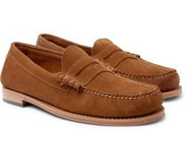 Weejun Heritage Larson Suede Penny Loafers
