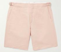 Norwich Slim-Fit Linen Shorts