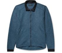 Maestrale Shell-Trimmed Virgin Wool Zip-Up Jacket