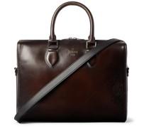 Scritto Leather Briefcase
