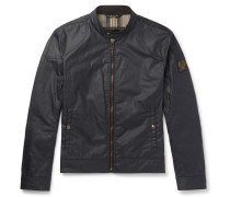 Kelland Waxed-cotton Blouson Jacket