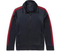 Jersey Zip-up Sweatshirt